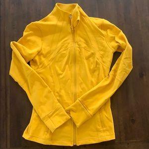 Lululemon Define Jacket - size 6 - mustard yellow
